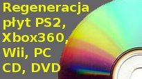 Regeneracja płyt CD DVD Kraków